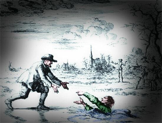 Dirk Willems, Selbstlosigkeit, Täufer, Märtyrer